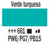 Venta pintura online: Acrílico Verde Turquesa nº661