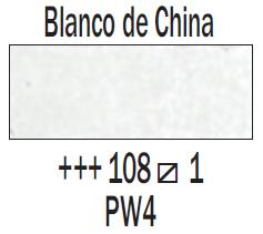 Venta pintura online: Acuarela Blanco China nº108 Serie 1