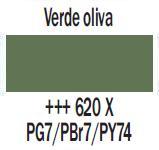 Venta pintura online: Gouache Verde Oliva nº620