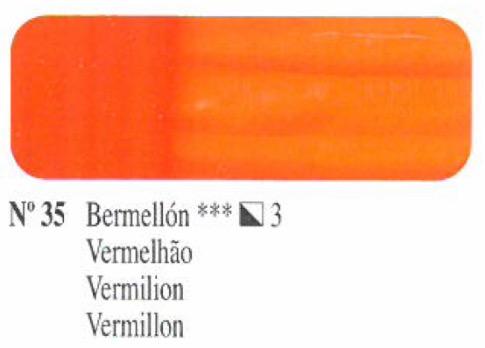 Venta pintura online: Oleo Bermellón nº35 serie 3