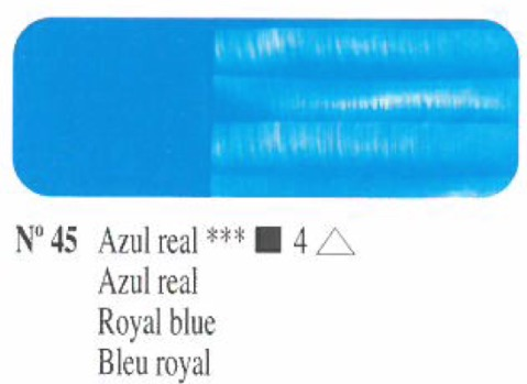 Venta pintura online: Oleo Azul real nº45 serie 4