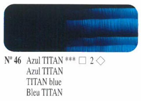 Venta pintura online: Oleo Azul Titan nº46 serie 2