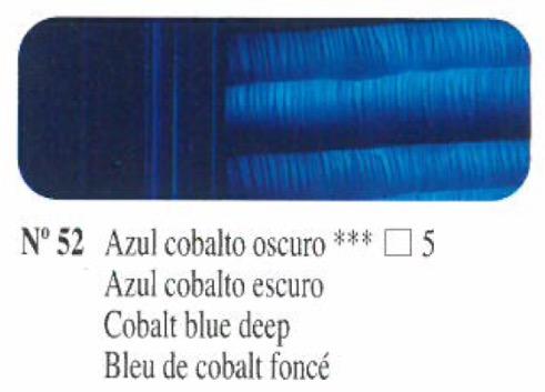 Venta pintura online: Oleo Azul cobalto oscuro nº52 serie 5