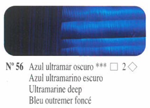 Venta pintura online: Oleo Azul ultramar oscuro nº56 serie 2