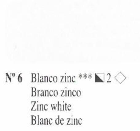 Venta pintura online: Oleo Blanco de zinc nº6 serie 2