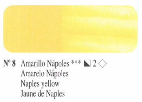 Venta pintura online: Oleo amarillo Napoles nº8 serie 2