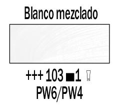 Venta pintura online: Óleo Blanco Mezclado nº103 S.1