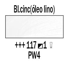 Venta pintura online: Óleo Blanco Cinc (Aceite Linaza) nº117 S.1