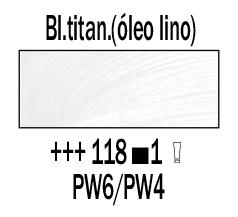 Venta pintura online: Óleo Blanco Titanio (Aceite Linaza) nº118 S.1