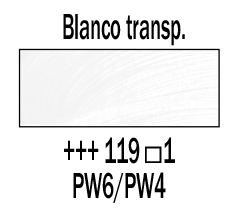 Venta pintura online: Óleo Blanco Transparente nº 119 S.1