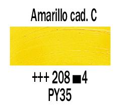 Venta pintura online: Óleo Amarillo Cadmio Claro nº208 S.4