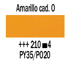 Venta pintura online: Óleo Amarillo Cadmio Oscuro nº210 S.4