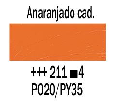Venta pintura online: Óleo Anaranjado Cadmio nº211 S.4