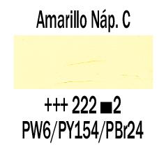 Venta pintura online: Óleo Amarillo Nápoles Claro nº222 S.2