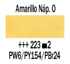 Venta pintura online: Óleo Amarillo Nápoles Osc. nº223 S.2