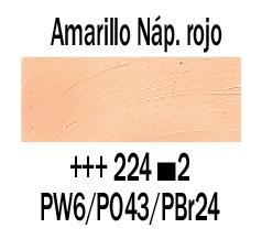 Venta pintura online: Óleo Amarillo Nápoles Rojo nº224 S.2