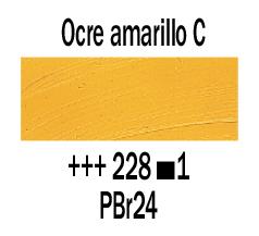 Venta pintura online: Óleo Ocre Amarillo Claro nº228 S.1