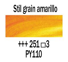 Venta pintura online: Óleo Stil de Grain Amarillo nº251 S.3