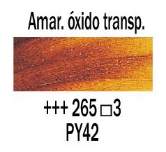 Venta pintura online: Óleo Amarillo Óxido transparente nº265 S.3