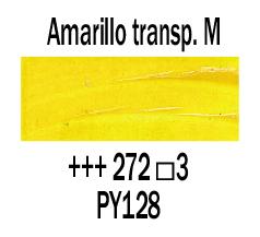 Venta pintura online: Óleo Amarillo Transp. Medio nº272 S.3