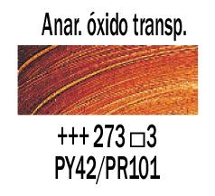 Venta pintura online: Óleo Anaranjado Óxido Transp. nº273 S.3