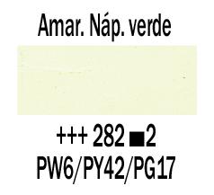 Venta pintura online: Óleo Amarillo Nápoles Verde nº282 S.2