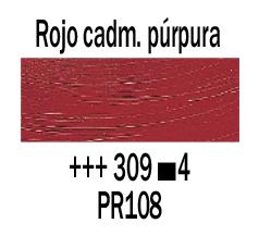 Venta pintura online: Óleo Rojo Cadmio Púrpura nº309 S.4