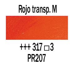 Venta pintura online: Óleo Rojo Transparente Medio nº317 S.3