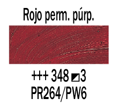 Venta pintura online: Óleo Rojo Perm. Púrpura nº348 S.3