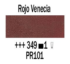 Venta pintura online: Óleo Rojo Venecia nº349 S.1