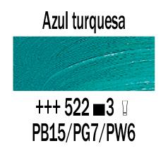 Venta pintura online: Óleo Azul Turquesa nº522 S.3