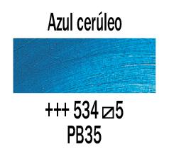 Venta pintura online: Óleo Azul Cerúleo nº534 S.5