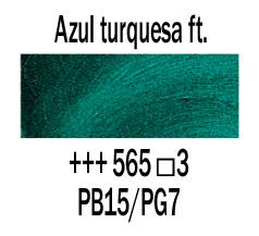Venta pintura online: Óleo Azul Turquesa Ftalo nº565 S.3