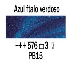 Venta pintura online: Óleo Azul Ftalo Verdoso nº576 S.3