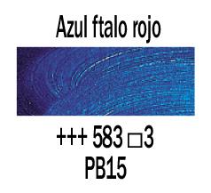 Venta pintura online: Óleo Azul Ftalo Rojizo nº583 S.3