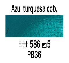 Venta pintura online: Óleo Azul Cobalto Turquesa nº586 S.5