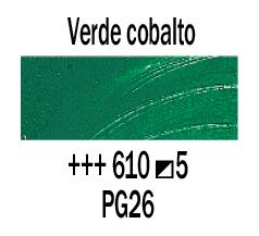 Venta pintura online: Óleo Verde Cobalto nº610 S.5