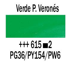 Venta pintura online: Óleo Verde Paolo Verones nº615 S.2