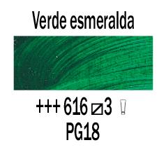 Venta pintura online: Óleo Verde Esmeralda nº616 S.3
