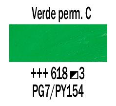 Venta pintura online: Óleo Verde Perm. Claro nº618 S.3