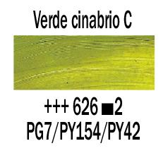 Venta pintura online: Óleo Verde Cinabrio Claro nº626 S.2