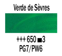 Venta pintura online: Óleo Verde Sévres nº650 S.3
