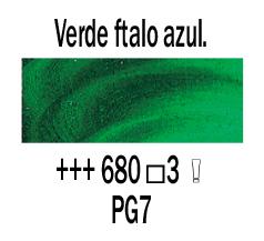 Venta pintura online: Óleo Verde Ftalo Azul nº680 S.3