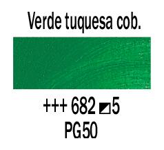 Venta pintura online: Óleo Verde Cobalto Turquesa nº682 S.5