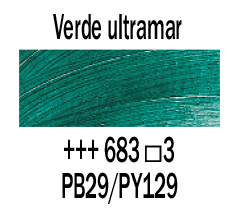 Venta pintura online: Óleo Verde Ultramar nº683 S.3