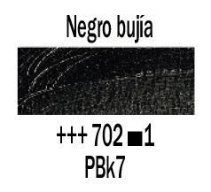 Venta pintura online: Óleo Negro Bujía nº702 S.1