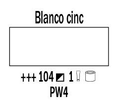 Venta pintura online: Óleo Blanco Cinc nº104 Serie 1