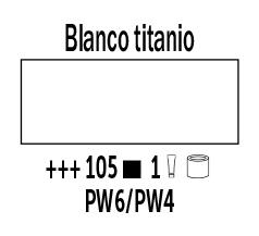 Venta pintura online: Óleo Blanco Titanio nº105 Serie 1