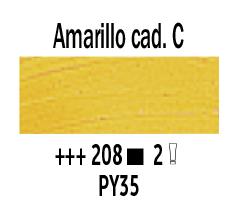 Venta pintura online: Óleo Amarillo Cadmio Claro nº208 Serie 2