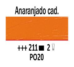Venta pintura online: Óleo Anaranjado Cadmio nº211 Serie 2